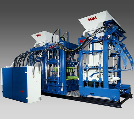 Prensas Fijas o Bloqueras del fabricante Danés KVM